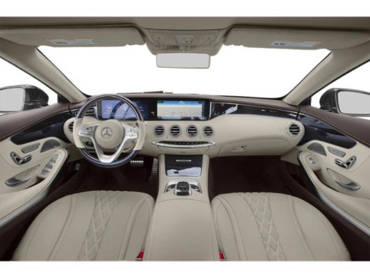 Mercedes s class 2019 interior